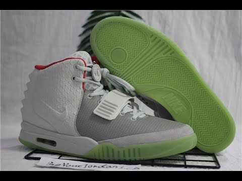 Nike Air Yeezy 2 Wolf Grey / Pure Platinum Review