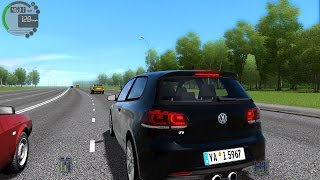 City Car Driving 1.5.3 Volkswagen Golf R TrackIR 4 Pro [1080P]