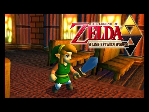 Citra Emulator 0.1.255 (CPU JIT) - The Legend of Zelda: A Link Between Worlds [1080p] - Nintendo 3DS - 동영상