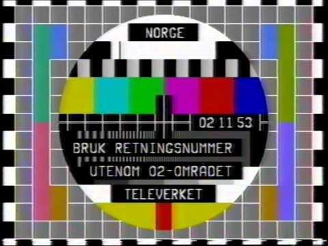 Prøvebilde med nattradio på NRK P1 (90-tallet?): Nattønsket og Patriotismemusikk
