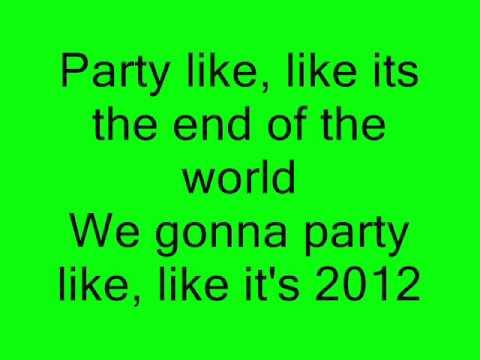 2012 (It Ain't The End) - Jay Sean Ft. Nicki Minaj (Lyrics)