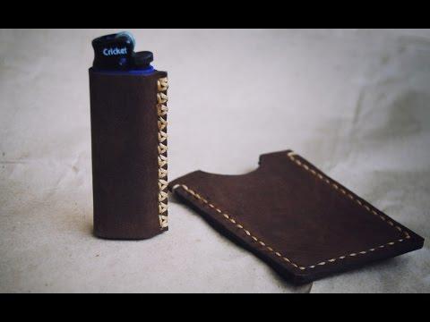 Работа с кожей. Чехол для зажигалки ( Leather Case For Lighters)