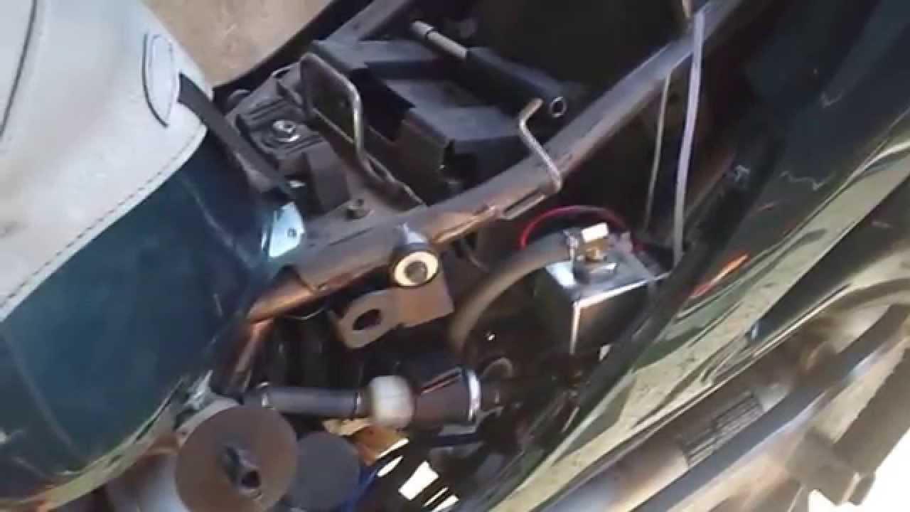 Pompe 224 Essence Facet Sur Honda Deauville 2002 Youtube