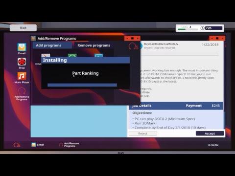 PC building simulator ! mon JOB en virtuel #2
