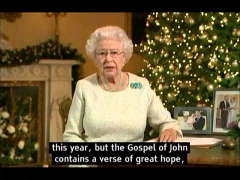 The Queen's Christmas Message 2015 (with subtitles) Elizabeth II ...