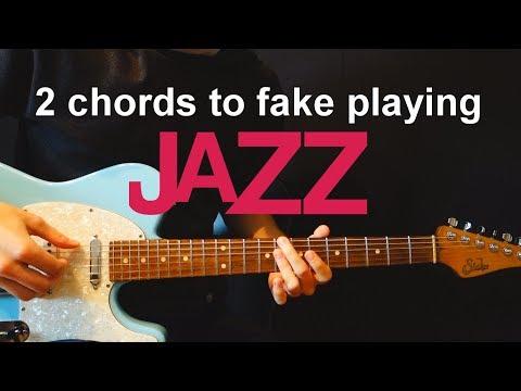 2 Guitar Chords To Fake Playing Jazz - Chordal Lesson Ep.6