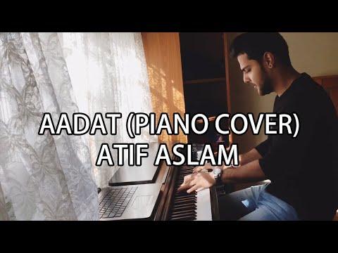 Atif Aslam - Aadat | Umair Mehmood (Piano Cover)