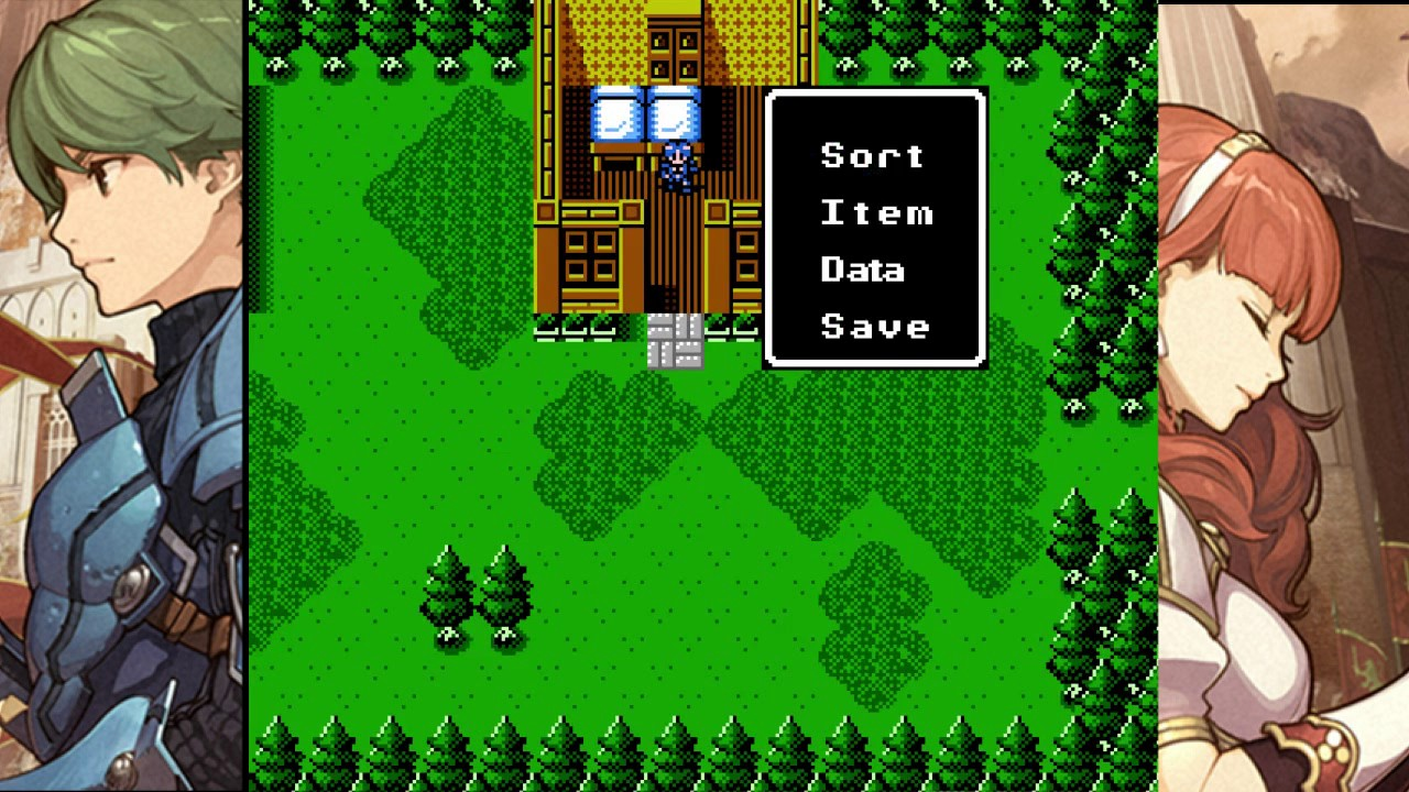 fire emblem gaiden rom english