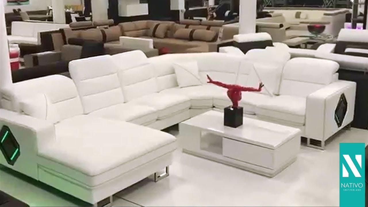 Nativo Möbel österreich Designer Sofa Gregory Xxl Mit Led