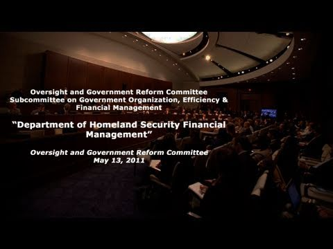 """Department of Homeland Security Financial Management"""