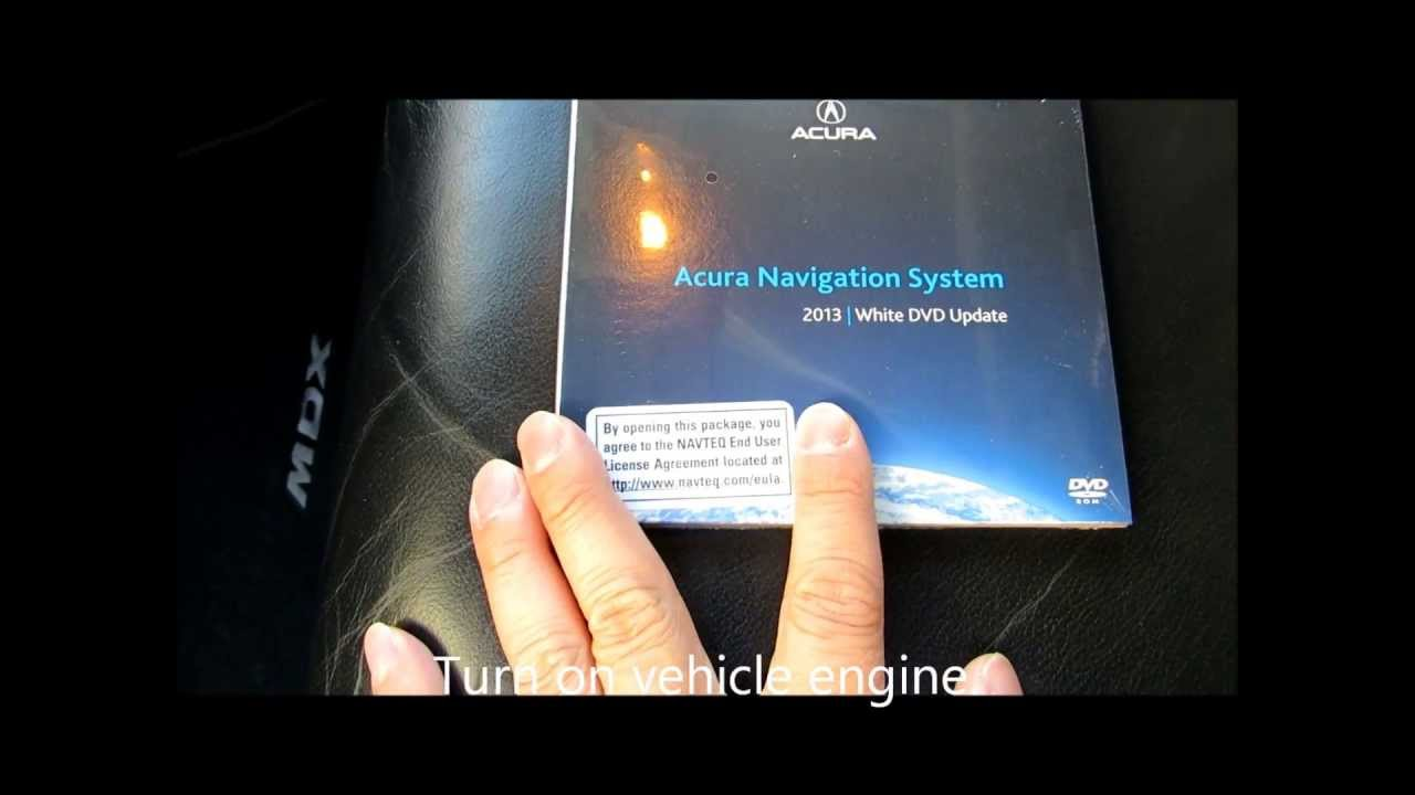 How To Updateupgrade The Navigation DVD On Acura And Honda Vehicles - Acura navigation dvd