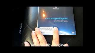 How to update/upgrade the Navigation DVD on Acura and Honda vehicles