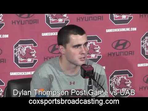 Dylan Thompson Post Game vs UAB