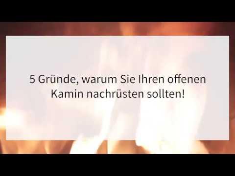 Beliebt Offenen Kamin umrüsten - Weniger Ruß! Mehr Effizienz! JC44