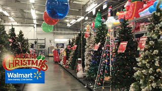 Walmart christmas 2020 decorations, inflatables, lights & toys - shopping store walkthrough