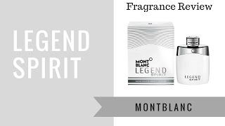 Legend Spirit by Montblanc | Fragrance Review