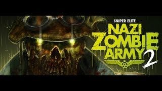 Sniper Elite Nazi Zombie Army 2 PC Gameplay HD | 1080p