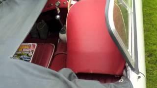 1959 Austin Healey Sprite Mk1 Up Close