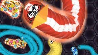 WORMATE Безумный Червяк детская мульт игра Мультфильм клон SLITHER IO WORMAX IO и Агарио СЪЕШЬ МЕНЯ