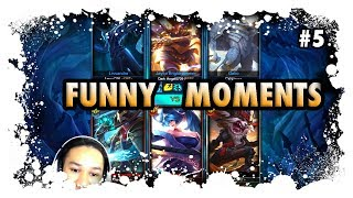 Funny Moments In Twisted Treeline League Of Legends - GRAFINX - Funny Moments #5