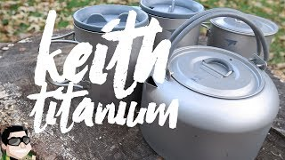 Keith Titanium Kettle & Double Wall Mug Review