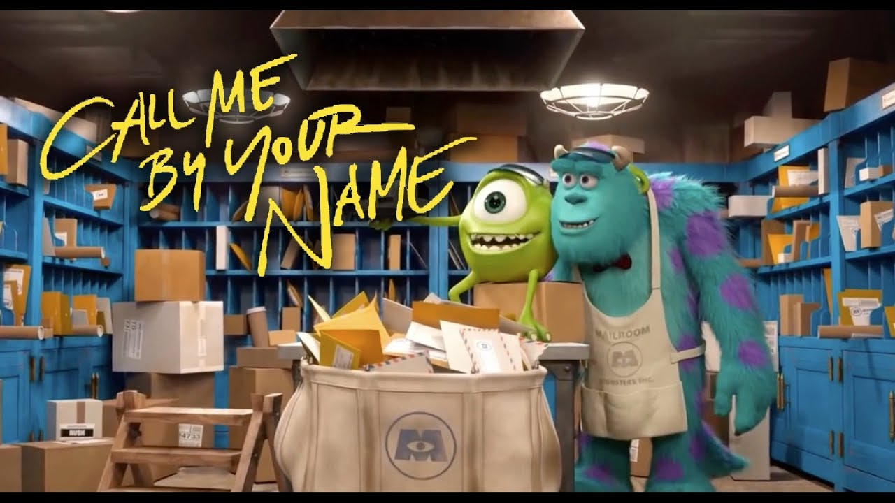 Call Me By Your Name Trailer, But With Monster's University