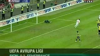 FC Sion: 0 - Fenerbahçe: 2 Uefa Europa League