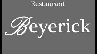 Restaurant Beyerick in de prijzen