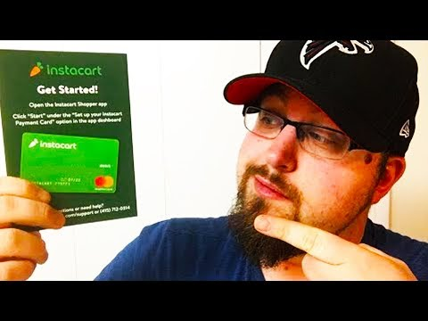 A few comments about the Instacart debit card (PTD Vlogs Day