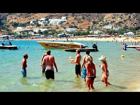 Mylopotas Beach - Ios island, Greece