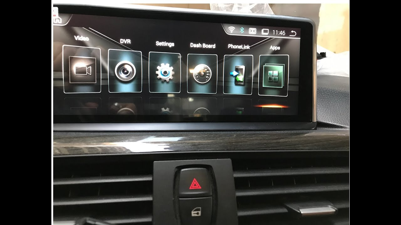 BMW F30 NBT EVO Android Interface