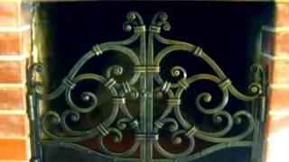 видео Старинные кованые решетки