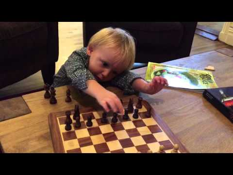 The lazy little Chess player