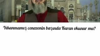 Cenaze başında Kuran okunur mu?