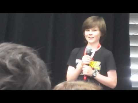 Chandler Riggs (Carl on The Walking Dead) Q&A - Supanova Exp