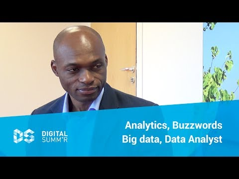 Analytics, Buzzwords, Big data, Data Analyst - Jean Paul Isson au Digital Summ'r