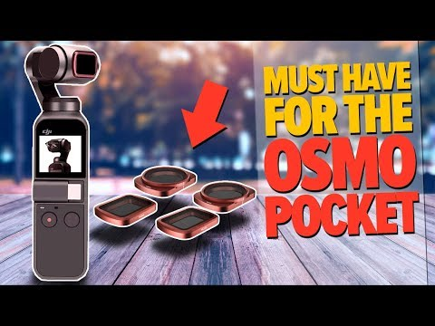 A Must Have For The Osmo Pocket |  Skyreat ND Filters