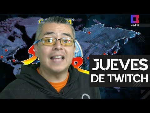 Densho y Street Fighter en el Día del Gamer | #JuevesDeTwitch