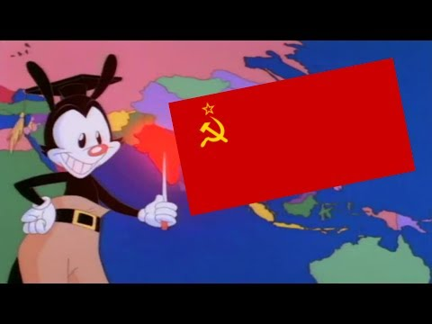 Yakko's World but it's COMMUNIST PROPAGANDA