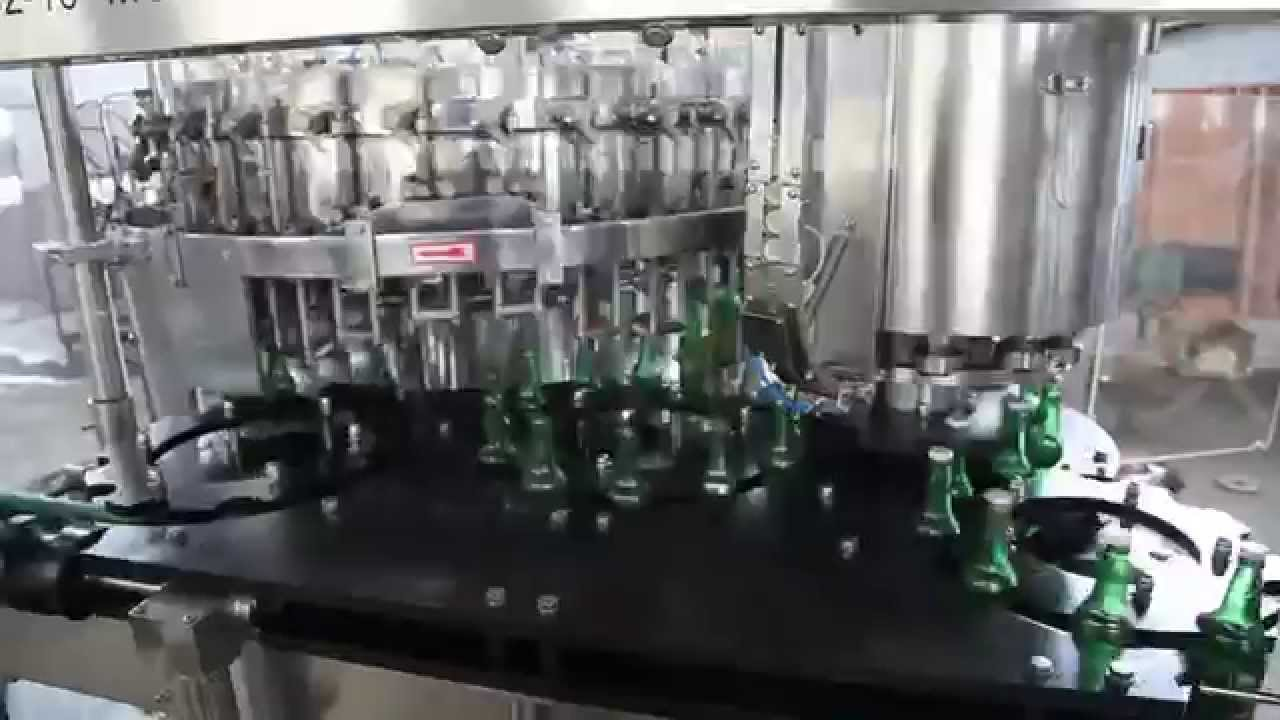 Beer Filling Machine Beer Bottle Filling Machine Glass