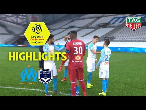 Olympique De Marseille - Girondins De Bordeaux ( 1-0 ) - Highlights - (OM - GdB) / 2018-19