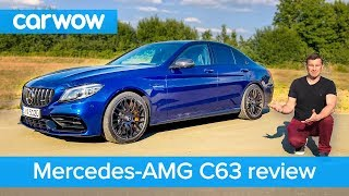 Mercedes-AMG C63 S 2019 review - see how quick it can get to 60mph | carwow