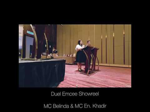 Emcee Belinda Wai_Duel MC for Asia Asset Management Foundation Lauching Ceremony 亚洲资产管理基金会推介礼