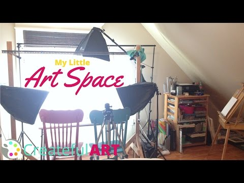 Art Studio Tour | My little Art Space