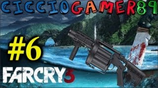 Far Cry 3 Gameplay Live - 6° : Io Ho Un Lancia Granate Infinito !? @-@ . Full HD ITA 1080P .