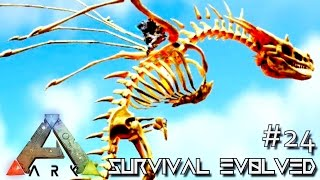 modded ark survival evolved baby alpha bone wyvern e24 ark scorched earth gameplay