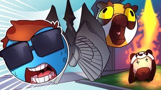 Deathrun In Mini Golf! - Golf It Funny Moments and Rage