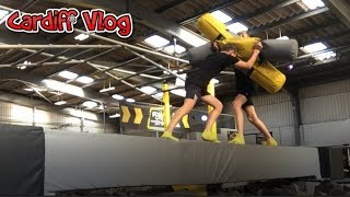 Another trampoline park? (Cardiff Vlog)