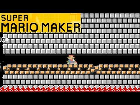 JUGANDO A MARIO KART! SUPER MARIO MAKER!