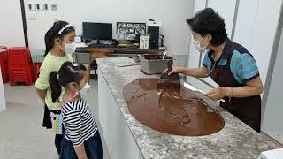[박하빈 박서하][2021년 10월] 곡성 한국 초콜릿…
